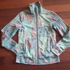 Adidas track jacket sa small